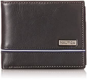 Nautica Men's Multi Card Passcase, Black, One Size