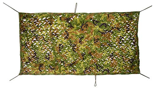 SJIAWZW Camouflage Camouflage Net for Camping Hidden Forest Hunting Tent Shade Party Halloween Christmas Decoration (Multi-Color Optional) (Color : A, Size : -