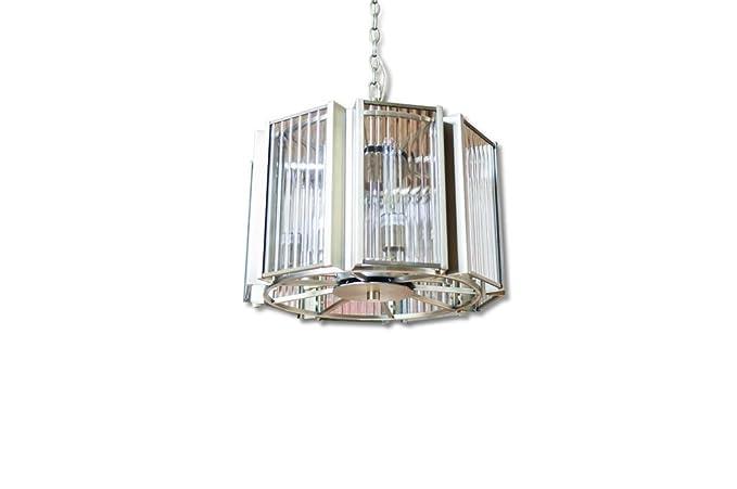 pib - Lámparas de techo - Araña de vidrio y latón Antibes ...