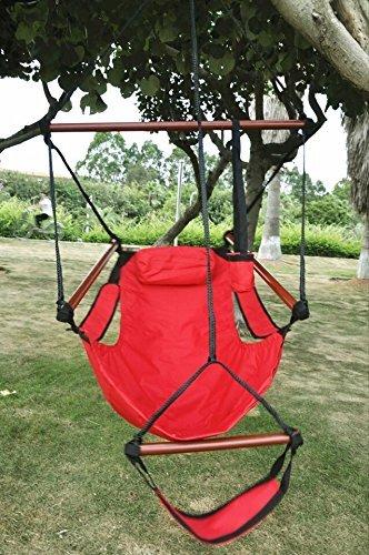 Bon American Phoenix New Deluxe Patio Yard Hanging Hammock, Air Chair Swing  Hanging Chair Sky Ride
