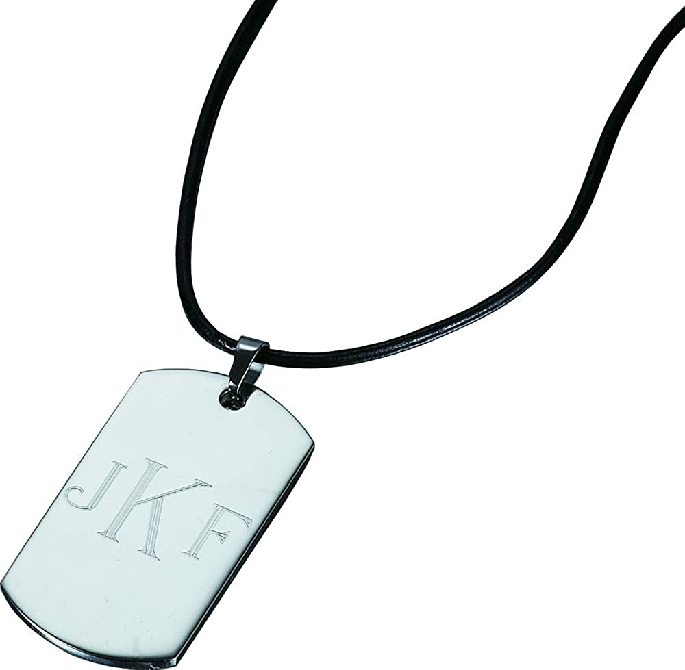 Visol Oswald Stainless Steel Pendant Necklace