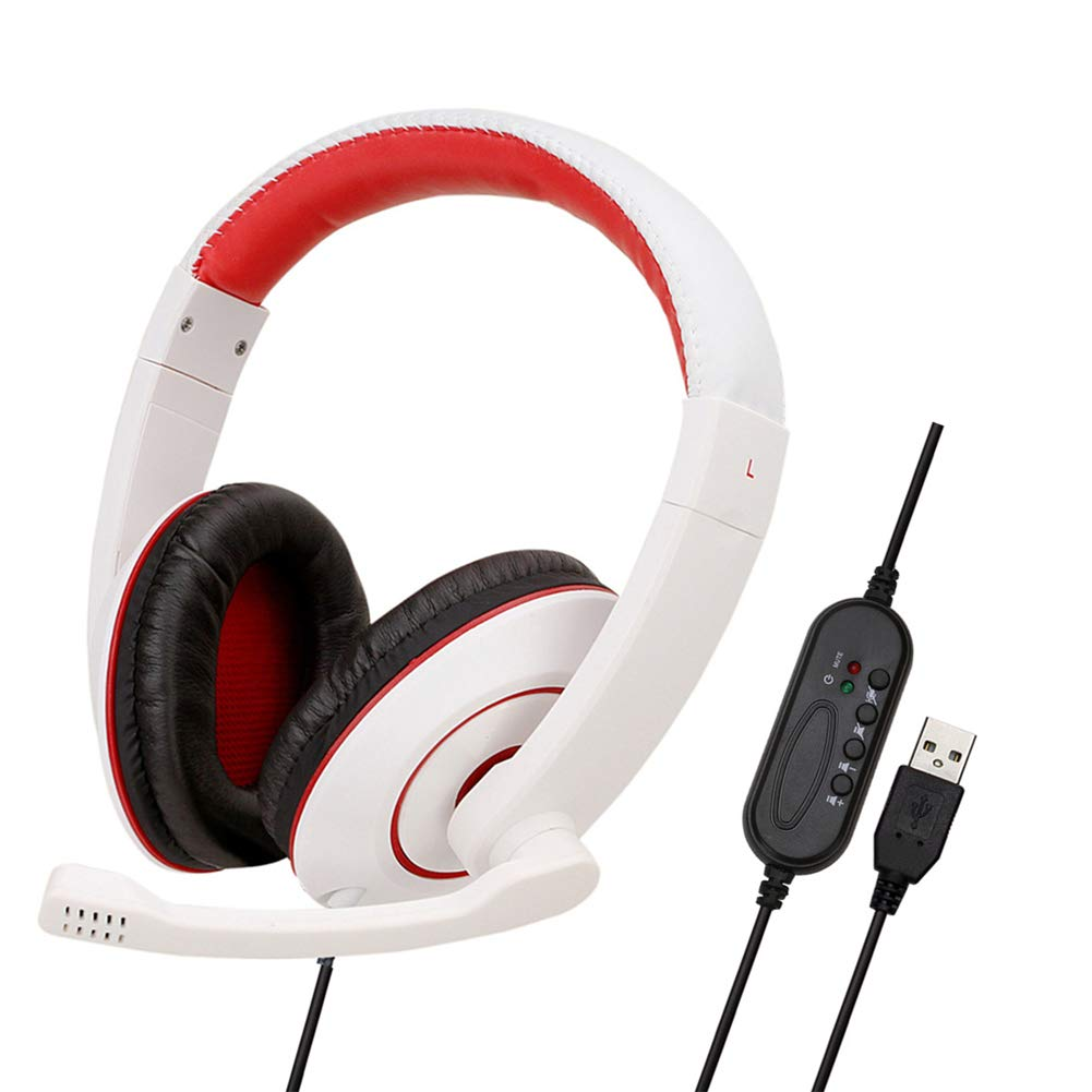 Cascos Gaming Controlador Independiente 5.1 Canales USB con ...