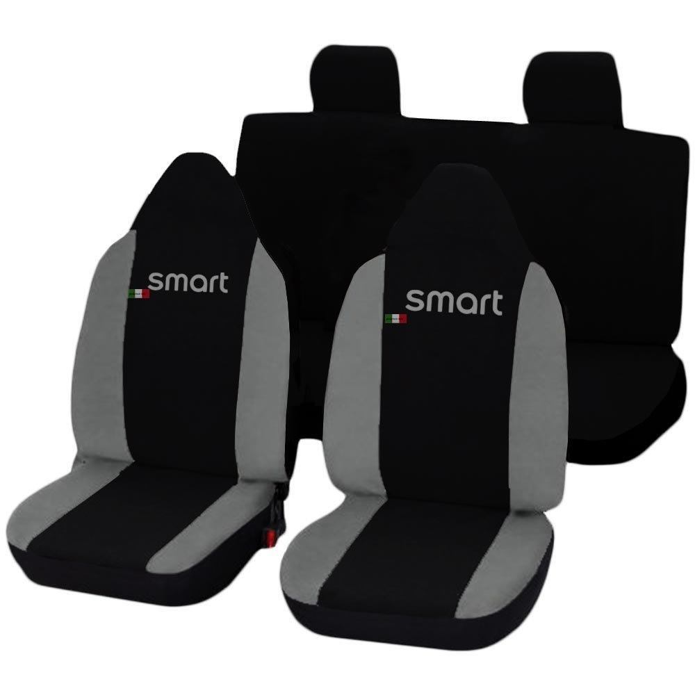 Lupex Shop Smart.FF No GC Car Seat Covers Black//Light Grey