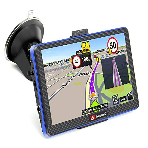 GPS Navigation for Car GPS Navigation System 7 inch Portable GPS Navigation and Capacitive Touchscreen with 2018 Maps Voice Steering Navigation Built-in 8GB Sat nav with Lifetime Maps Updates