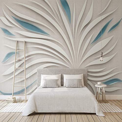 Ersiliu 3D Mural Wallpaper 3D Abstract Petals Glass Cloth Mosaic Mural Living Room Sofa Tv Background Decoration 280cm(W) x 180cm(H) (9'2