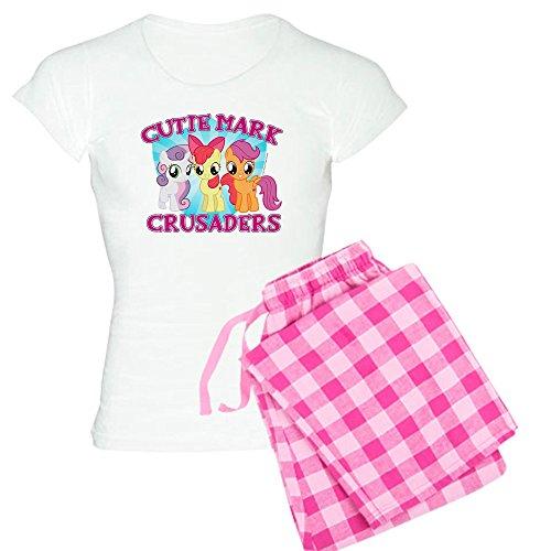 CafePress My Little Pony Cutie Mark Womens Novelty Cotton Pajama Set, Comfortable PJ Sleepwear