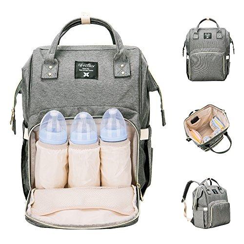 Diaper Bag Backpack, Lifecolor Multi-Function Waterproof Mat