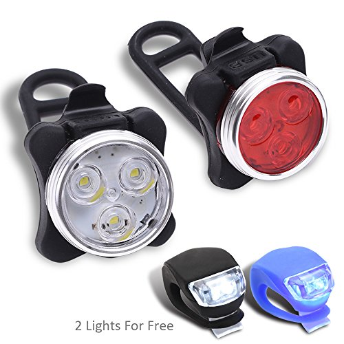 Wolfwill 100 Lumens Rechargeable 4 Light Silicone product image