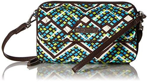 Vera Bradley Rfid All in One Crossbody, Rain Forest