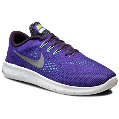 Nike Kid's Free Run (GS) Dark Iris/Reflect Silver 833993-501 (7Y) - Image 1