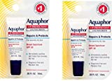 Aquaphor Lip Protectant and Sunscreen Ointment - Broad Spectrum SPF 30 - Relieves Chapped Lips.35 fl. Oz. Tube, 2 Pack