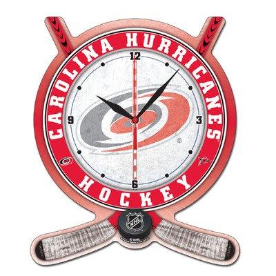 (Wincraft NHL 2740411 Carolina Hurricanes High Definition Plaque Clock)