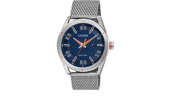 Amazon.com: Citizen BM699055L Mens Eco-Drive CTO Milanese Stainless Steel Watch BM6990-55L: Electronics