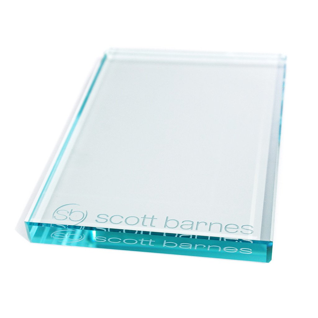 Scott Barnes Cosmetics Glass Makeup Palette