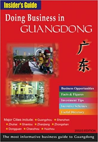 Doing Business in Guangdong (Insider's Guide S ): Amazon co uk