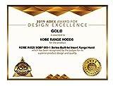 KOBE Range Hoods INX2930SQBF-500-1 Built-In/Insert