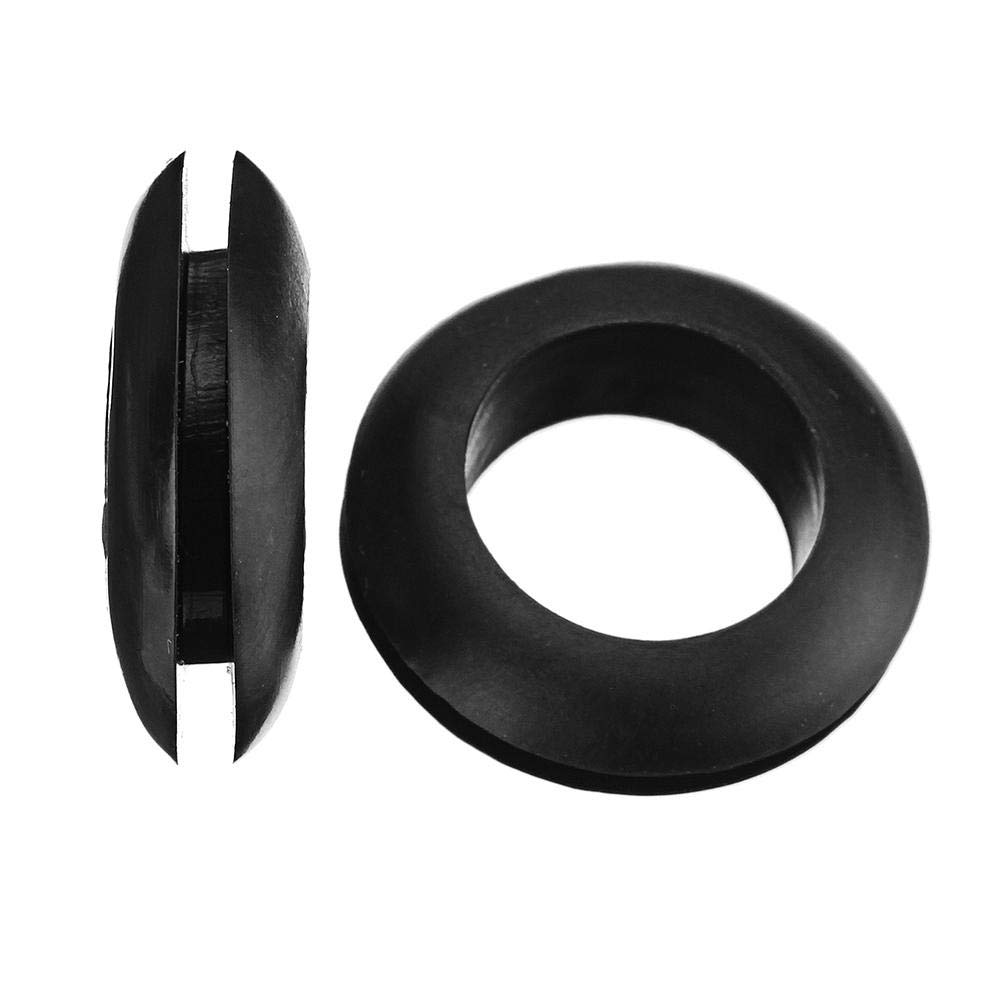 Amazon.com: MXRW4 200Pcs Rubber Wires Harness Grommets Protect Wires Rubber  Ring Sealing Grommet 3-20mm - Fasteners Nut & Bolt Assortment Sets -: Home  ...