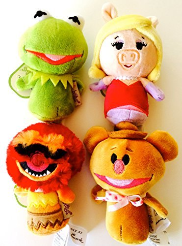 Hallmark Itty Bittys Muppets Characters Set (Piggy, Kermit, Animal, Fozzie)