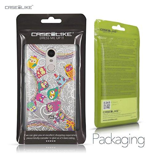 CASEiLIKE Funda Mi A1 , Carcasa Xiaomi Mi A1, Búho diseño gráfico 3318, TPU Gel silicone protectora cover Búho diseño gráfico 3316