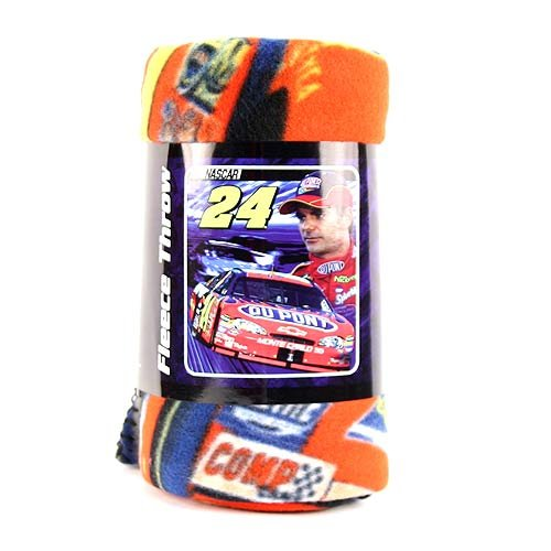 Nascar Jeff Gordon - Fleece Blanket-Throw Accent