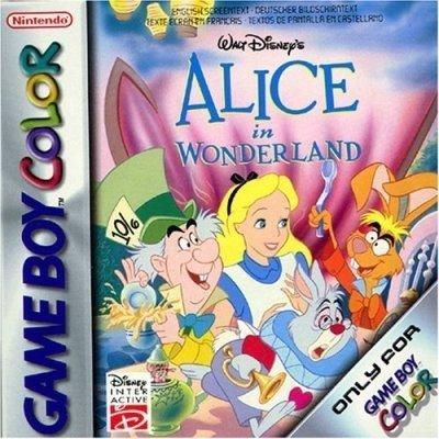 Alice Wonderland Game Boy Color
