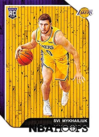 c47769a35da 2018-19 Panini Hoops  233 Svi Mykhailiuk Los Angeles Lakers RC Rookie NBA  Basketball