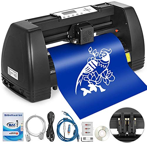 Mophorn Heat Press Machine 15x15 inch 5in1 T-Shirt Heat Press and Vinyl  Cutter 14 inch Plotter Machine 375mm Paper Feed Vinyl Cutter Plotter