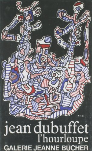 """L'hourloupe by Jean Dubuffet 24""""x18"""" Art Print Poster"""