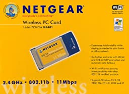 Netgear MA401 802.11b Wireless PC Card