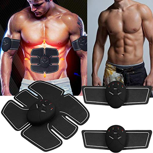 Rapesee Muscle Toner Abdominal Toning Belt Waist Trimmer Smart Fitness Body Gym Workout Waist Trimmers from Rapesee