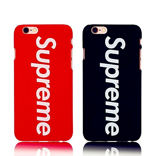 Price comparison product image Supreme Matte Red Logo Hard iPhone 6 / 6s Case