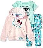 Hello Kitty Baby Girls 3 Piece Zip up Hoodie