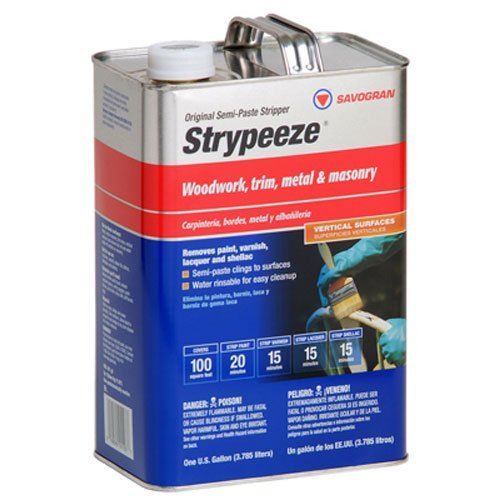 Savogran 01103 Strypeeze Semi-Paste Stripper Paint/Varnish Remover