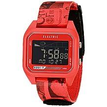 Electric Men's EW0120020044 ED01 Tide Nato Band Digital Display Japanese Quartz Red Watch