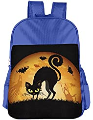 Halloween Cat Kids School Bag