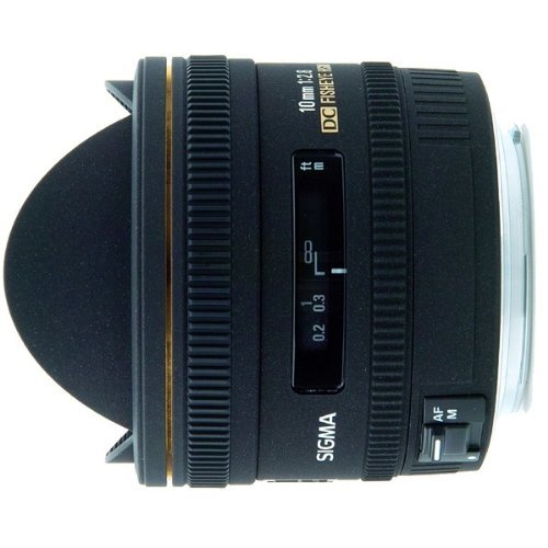 Sigma 10mm f/2.8 EX DC HSM Fisheye Lens for Pentax Digital SLR Cameras - International Version (No Warranty)