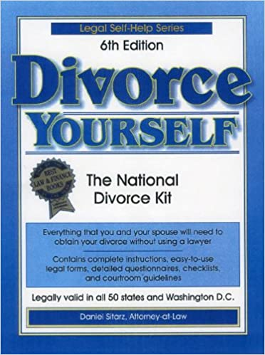 Divorce yourself 6th edition the national divorce kit amazon divorce yourself 6th edition the national divorce kit amazon daniel sitarz 9781892949110 books solutioingenieria Gallery