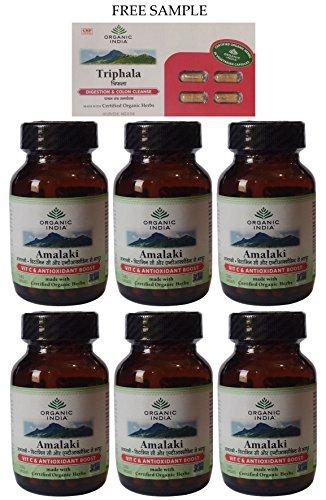 Organic India Amalaki Capsules Expedited product image