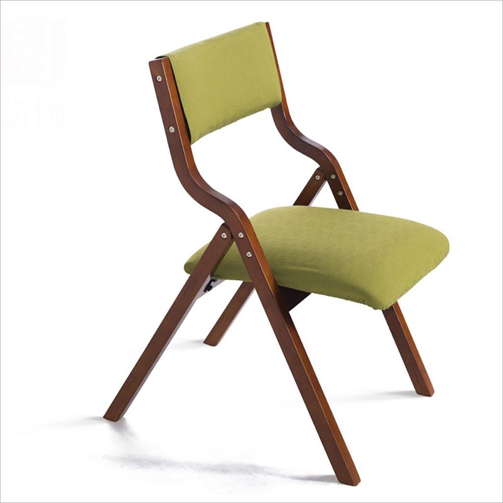 折りたたむ椅子 ホームシンプルなポータブルな木製の折り畳みダイニングチェア、簡単な折りたたみバックコンピュータチェア、リビングルームラウンジチェア(サイズ:高さ78.5センチメートル) 折りたたみチェア (色 : B) B07BRWTCX3 B B
