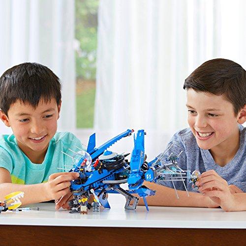 51Y3Vu8cCYL - LEGO Ninjago Movie Lightning Jet 70614 Building Kit (876 Piece)