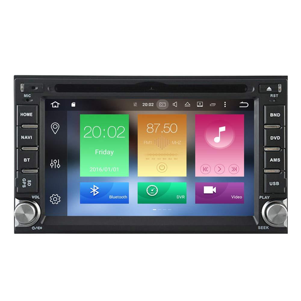 autostereo Sat Nav 178 * 100 Nissan Qashqai Tiida Paladin Quad Core Android 4.4 Coche GPS DVD estéreo para Nissan Universal Satnav: Amazon.es: Electrónica