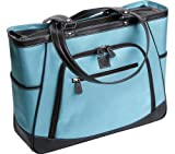 Clark and Mayfield Sellwood 17.3″ Laptop Tote – Blue, Bags Central