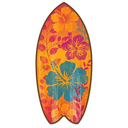 Mini tabla de surf playa erosionado Home Décor Accent 11 ...