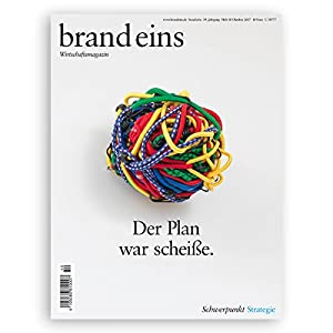 brand eins audio: Strategie Hörbuch