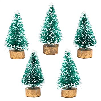 Baker Ross Mini Christmas Trees Creative Xmas Art Supplies For Christmas  Crafts And Decorations (Pack