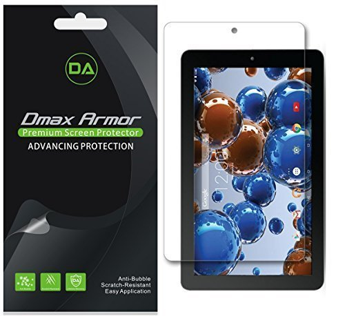 """Price comparison product image Dmax Armor [3-Pack] for RCA 10 Viking Pro/Viking II 10.1"""" Screen Protector Anti-Bubble High Definition Clear Shield - Lifetime Replacements Warranty- Retail Packaging"""