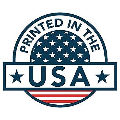 US Navy Emblem Logo Sticker Vinyl Decal Laptop Water Bottle Car Scrapbook Officially Licensed United States (Sheet - 3 Seals): Automotive