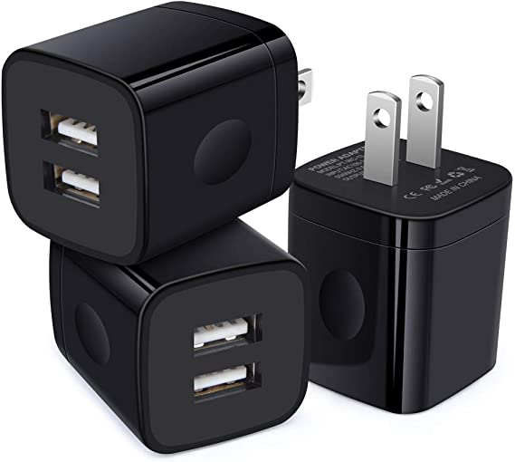Sundix Wall Charger 3-Port USB Type C Compact Wall Charger