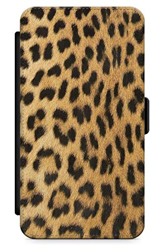 iPhone 5 Case, iPhone 5s, iPhone SE Designer Fashion Gold Leopard Print Phone Case by Casechimp | Premium Leather Flip Wallet Card Holder Slots | Leopard Animal Cheetah Cute - Iphone 5s Cheetah Charger