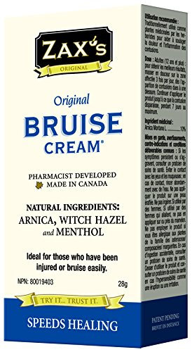 Zaxs Original Bruise Cream - #1 Selling Bruise Cream, Speeds Healing by 4 Days!, Reduces Pain & Inflammation, Reduces Discoloration, Ideal for Medical Cabinet & 1st Aid (Cover Up Day Cream)